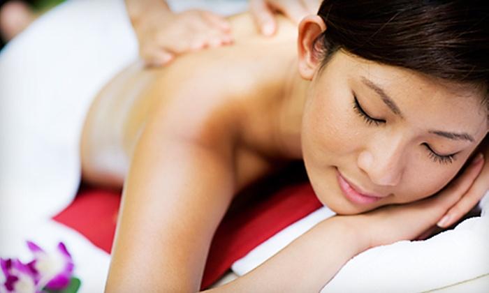 Sammi Gene Salon and Spa - Middlebury: Massage or Massage and Seaweed Wrap at Sammi Gene Salon and Spa in Middlebury