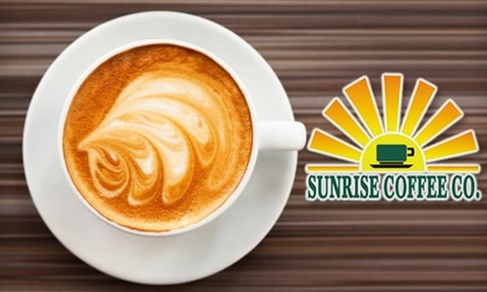 Sunrise Coffee Co. - Lincoln: $5 for $10 Worth of Coffee and Café Fare at Sunrise Coffee Co.
