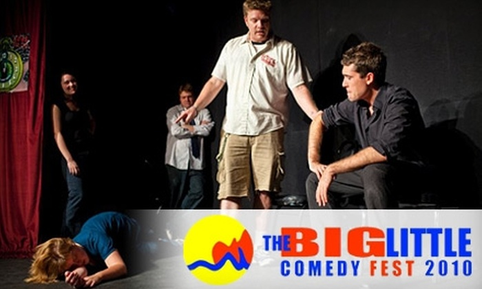 The Big-Little Comedy Fest - Belknap Lookout: $4 for One Ticket to an Improv/Sketch Comedy Performance at the Big-Little Comedy Fest, Held from Aug. 20–22 ($8 Value), Plus 25% Off a Comedy Workshop. Choose from Nine Shows.