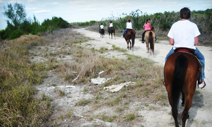 5 Star Stables & Tack - Joel: $75 for Two Spots on a Lakeside Trail Ride at 5 Star Stables & Tack in Lehigh Acres ($150 Value)