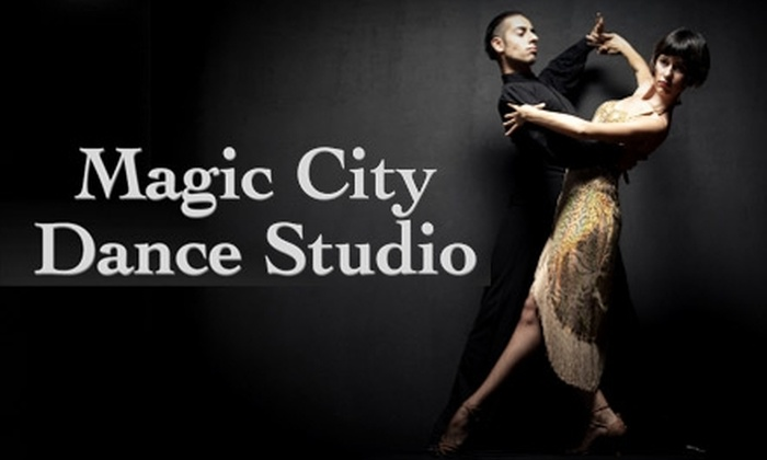 Magic City Ballroom Dance Studio - Vestavia Hills: $12 for Three 30-Minute Private Dance Lessons, Three Group Lessons, and Three Practice Parties at Magic City Ballroom Dance Studio ($153.75 Value)