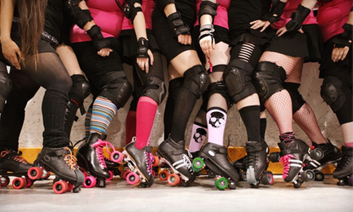 Hurricane Alley Roller Derby - Central City: $10 for Roller-Derby Bout for Two from Hurricane Alley Roller Derby ($20 Value)