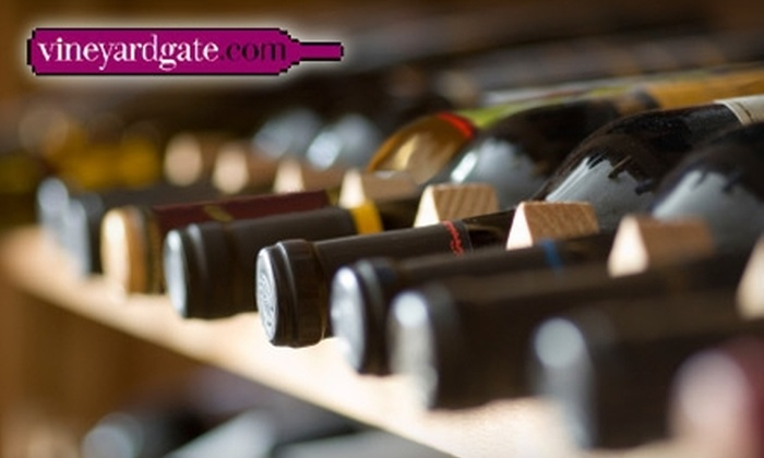 Vineyard Gate - Millbrae: $20 for $40 Worth of Wine at Vineyard Gate