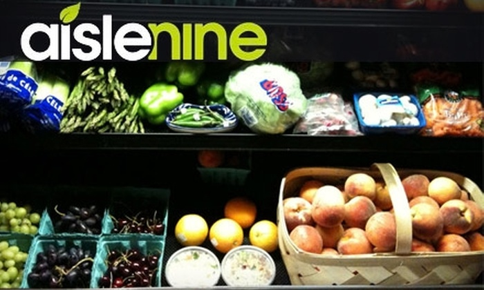Aisle Nine - Knoxville: $10 for $20 of Groceries at Aisle Nine