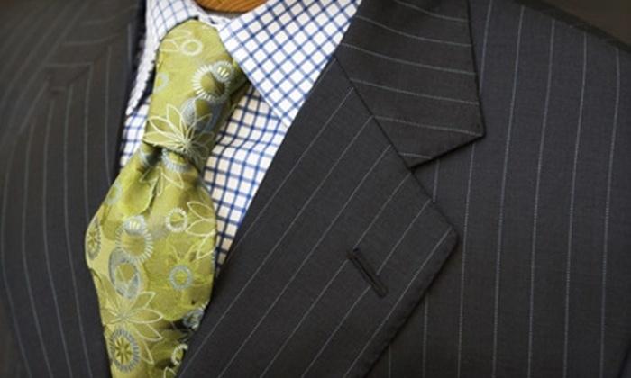 Bespoke & Co. - Wellswood: $95 for $225 Worth of Custom-Tailored Clothing from Bespoke & Co.