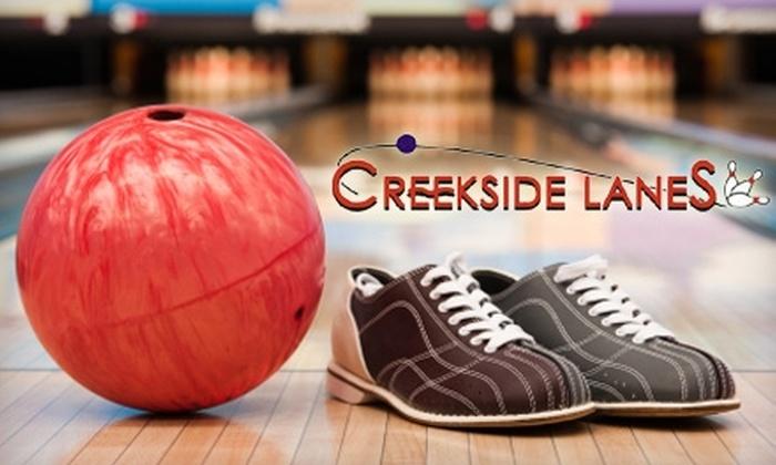 Creekside Lanes - Winston-Salem: $8 for Two Bowling Games and Shoe Rental for Two at Creekside Lanes