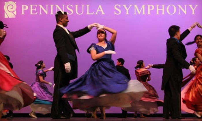 Peninsula Symphony - Multiple Locations: $19 for One Ticket to the Peninsula Symphony (Up to $38 Value). Choose from Six Performance Dates