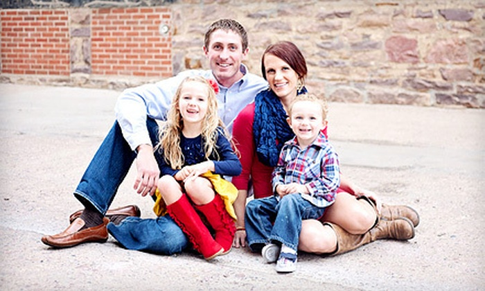 Crave Photography - Dell Rapids: $125 for an In-Studio or On-Location Family Package for Up to Five with CD of Images at Crave Photography ($425 Value)