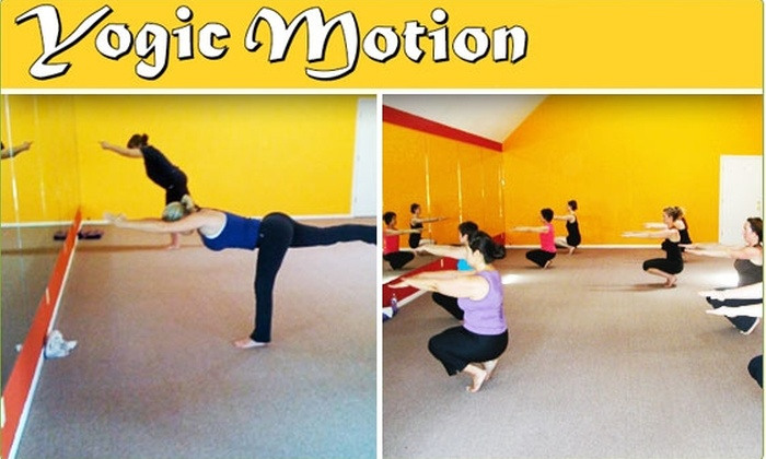 Yogic Motion - Lower Pacific Heights: 71% Off Five Hot Yoga Classes at Yogic Motion
