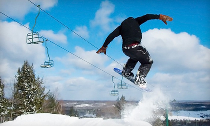 Norway Mountain - Norway: $18 for Day of Skiing at Norway Mountain (Up to $39 Value)