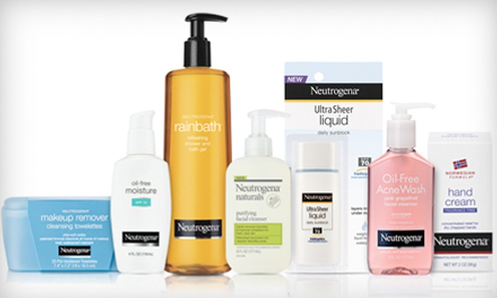Neutrogena Editor's Picks Bundle: $35 for an Editor's Picks Bundle from Neutrogena Including Seven Skincare Products ($59.43 Value). Shipping Included.