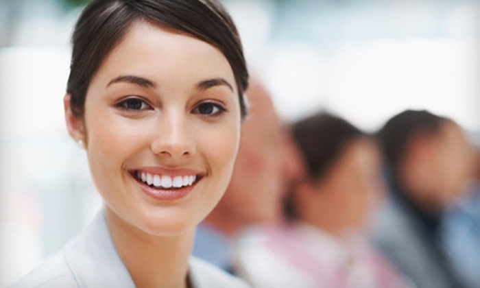 Five Points Center for Aesthetic Dentistry - University: Zoom! Treatment With or Without Take-Home Trays and Kit at Five Points Center for Aesthetic Dentistry (Up to 85% Off)