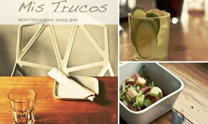 Mis Trucos - West End: $12 for $30 Worth of Tapas and Drinks at Mis Trucos