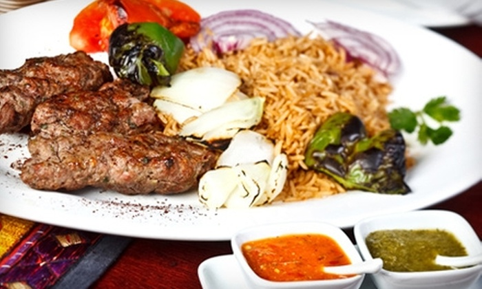 Unaabi Grill - Cary: $15 for $30 Worth of Afghan Cuisine at Unaabi Grill in Cary