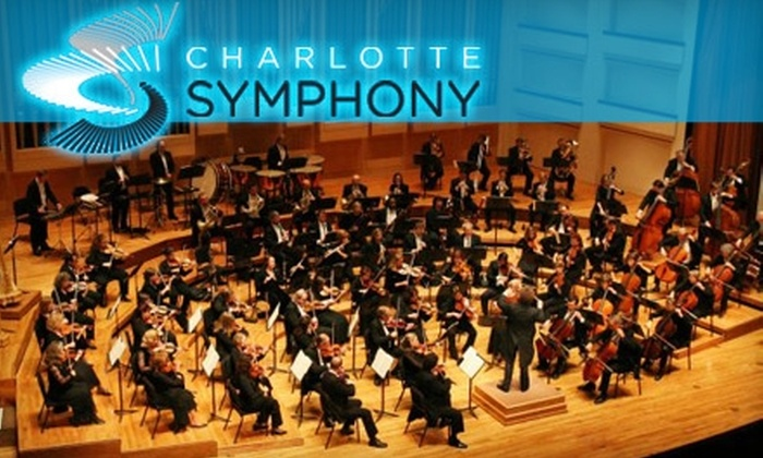 Charlotte Symphony Orchestra - Multiple Locations: $29 for an Orchestra I Ticket or $24 for an Orchestra II Ticket to the Charlotte Symphony Orchestra (Up to $57 Value). Choose from Six Dates.