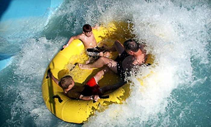 Splash Zone Water Park - Wildwood: All-Day Admission at Splash Zone Water Park in Wildwood. Two Options Available.