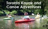 Toronto Kayak and Canoe Adventures - Lambton Baby Point: $25 for Intro to Kayaking and Canoeing and a Two-Hour Fall Colours Humber River Adventure from Toronto Kayak Adventures ($50 Value)