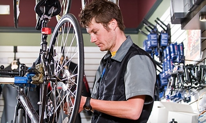Peloton Cyclery - Saint Charles: $30 for $60 Worth of Bicycle Gear and Services at Peloton Cyclery in St. Charles