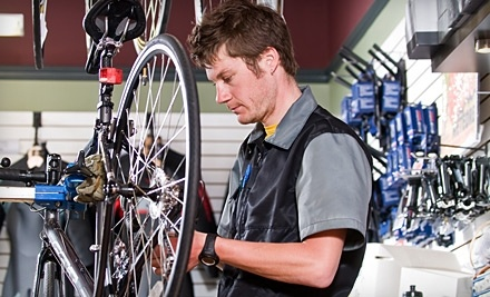 $60 Groupon to Peloton Cyclery - Peloton Cyclery in St. Charles