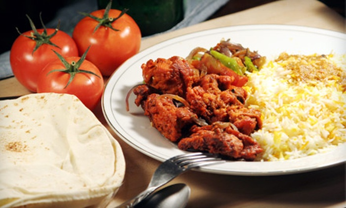 New Ashoka Palace - Victorville: $31 for Indian Dinner for Two at New Ashoka Palace in Victorville (Up to $81.75 Value)