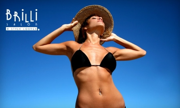 Brilli Salon - Lakeview: $50 for Two Spray Tans at Brilli Salon ($100 Value)