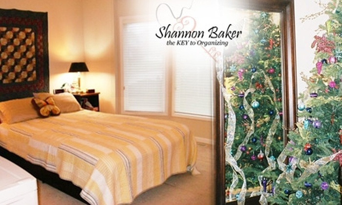 Key 2 Organizing - Omaha: $40 for Two Hours of Organizing and Seasonal Decorating Services from Key 2 Organizing ($88 Value)