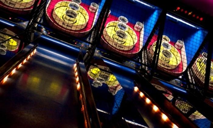 Shakers Fun Centre - Calgary: $5 for an Indoor Value Day Pass ($16.75 Value) or $13 for a Value Day Pass ($27.25 Value) at Shakers Fun Centre