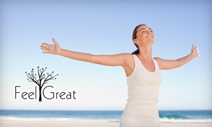 Feel Great Nutrition - Sarnia: $49 for an Initial Allergy Assessment and a Treatment Session at Feel Great Nutrition ($110 Value)