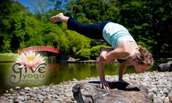 Give Yoga Memphis - Memphis: $19 for Three Yoga Classes at Give Yoga Memphis ($45 Value)