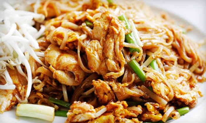 Blue Mint Thai & Asian Cuisine - Claremont Estates: Prix Fixe Meal for Two or Four at Blue Mint Thai & Asian Cuisine in Mansfield (Up to 51% Off)