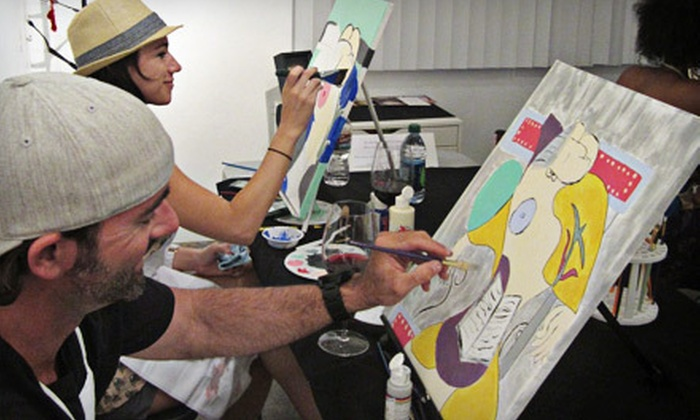 Danell Lynn Fine Arts - Downtown Phoenix: BYOB Painting Class for One or Two at Danell Lynn Fine Arts (Up to 62% Off)