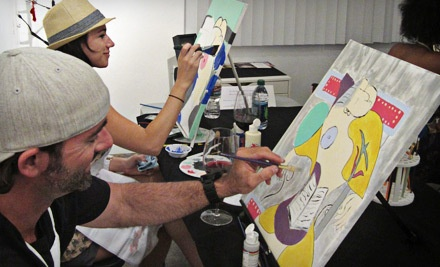 BYOB Painting Class for 1 (a $65 value) - Danell Lynn Fine Arts in Phoenix