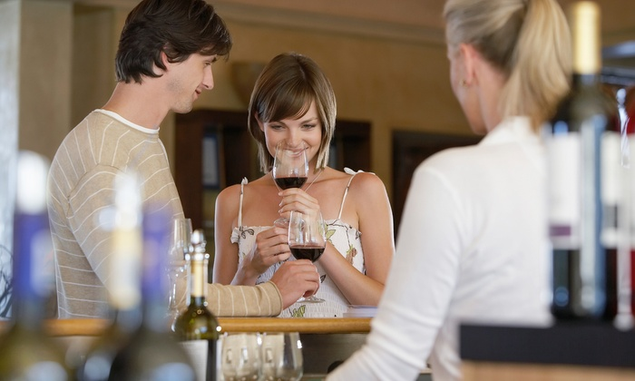 Hampton Luxury Liner - Multiple Locations: $149 for a Valentine's Day Luxe Hamptons Wine Country Tour for Two with Live Music from Hampton Luxury Liner ($370 Value)