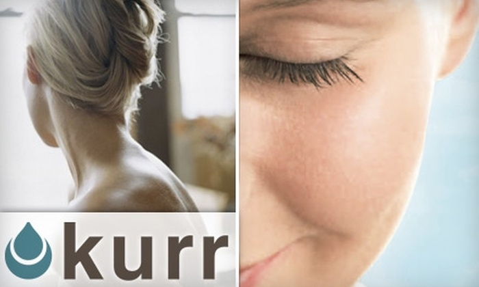 Kurr Aesthetics & Medical Spa - Carmel: $99 for Three Laser Hair-Removal Treatments at Kurr Aesthetics & Medical Spa in Carmel