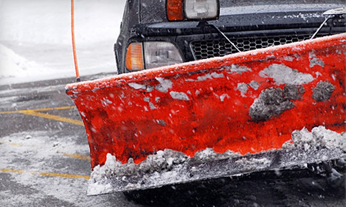 Good Guys Landscaping - Central Business District: One, Three, or Five Driveway Snow-Plowing Services from Good Guys Landscaping (Half Off)