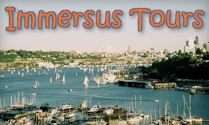 Immersus Tours - Pike Place  Market: $15 for One Ticket to a Green Walking Tour from Immersus Tours ($30 Value)