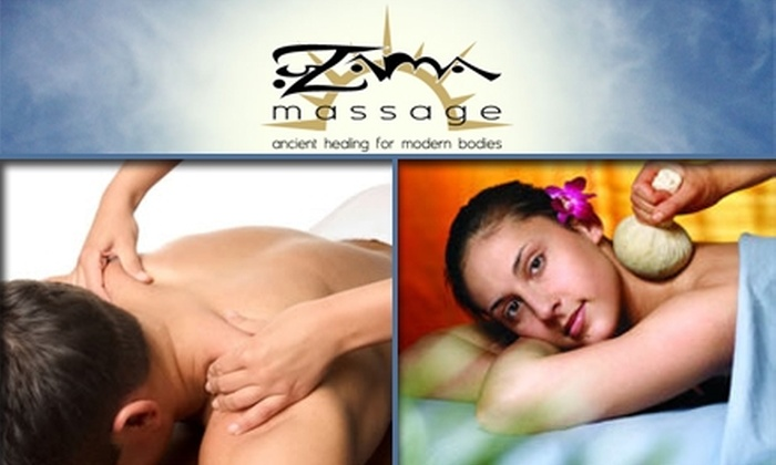 Zama Massage  - Grant Park: $40 for $80 Full-Body Massage and Herbal Aroma Treatment at Zama Massage