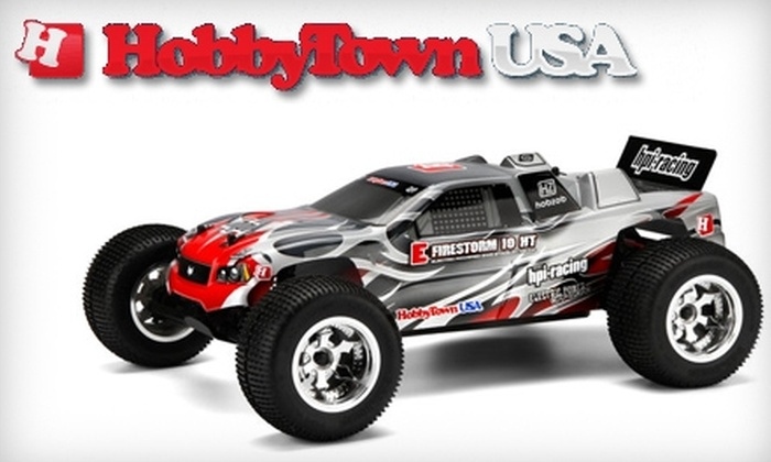 HobbyTown USA - Sioux Falls: $10 for $20 Worth of Hobby Goods at HobbyTown USA