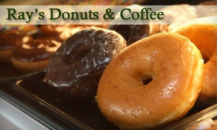 Ray's Donuts and Coffee - Multiple Locations: $4 for $10 Worth of Donuts, Bismarks, and More at Ray's Donuts and Coffee