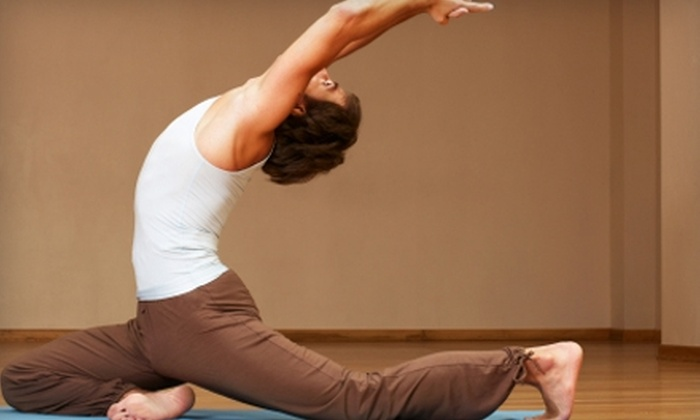 Auburn Yoga & Pilates Center - Worcester: $49 for a One-Month Membership to Auburn Yoga & Pilates Center (Up to $125 Value)