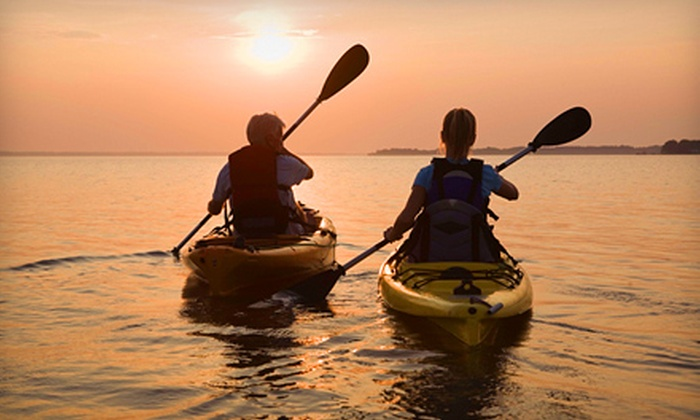 Florida from a Kayak - Clermont: Two-Hour Kayak Rental for Two or Four and $5 Worth of Snacks from Florida from a Kayak in Clermont (Up to 52% Off)