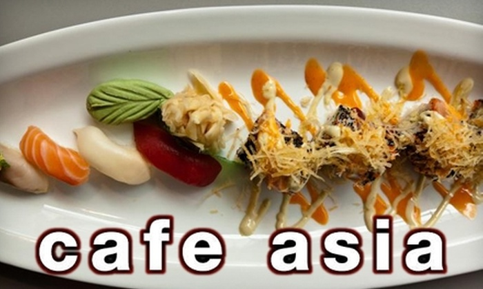 Café Asia - Dupont Circle: $20 for $40 Worth of Fine Asian Cuisine at Café Asia