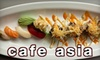 Café Asia - Dupont Circle: $20 for $40 Worth of Fine Asian Cuisine at Café Asia