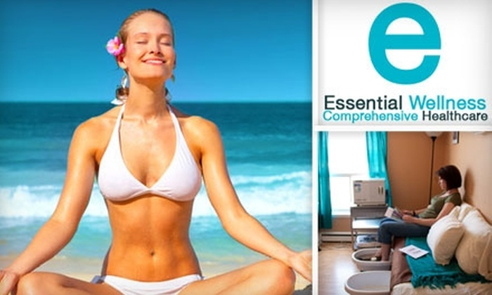 Essential Wellness - North Central: $25 for a Just for Feet Treatment (Reflexology, Ion Bath, & Aromatherapy) at Essential Wellness