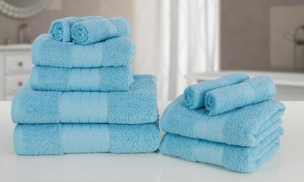10er-Set Handtücher aus Baumwolle (Sie sparen: 69%)