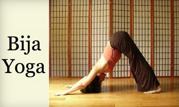 Bija Yoga - Lake Park: $37 for Five Classes at Bija Yoga