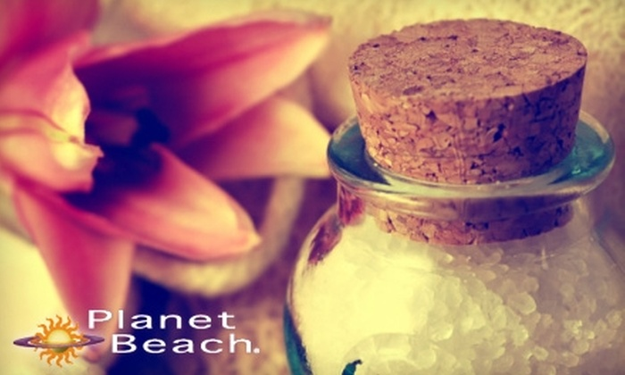 Planet Beach Contempo Spa - Easton: $25 for One Week of Unlimited Spa Services at Planet Beach Contempo Spa (Up to $250 Value)