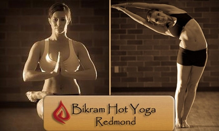Bikram Hot Yoga Redmond - Downtown Redmond: $35 for One Month of Unlimited Yoga at Bikram Hot Yoga Redmond ($130 Value)