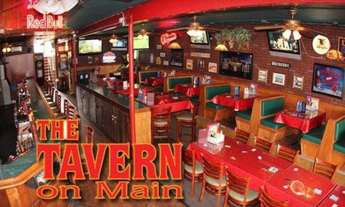 The Tavern On Main - El Segundo: $10 for $20 Worth of Burgers and Drinks at The Tavern on Main
