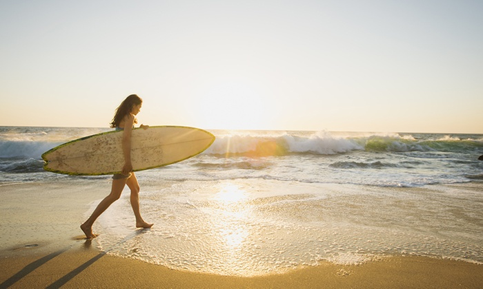 Oahu Surf Lesson - Oahu Surf Lesson: Two-Hour Group Surfing Lesson for One, Two, Three, or Four at Oahu Surf Lesson (Up to 60% Off)